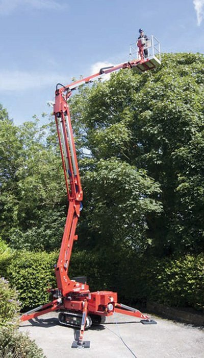 spiderlift hire nottingham
