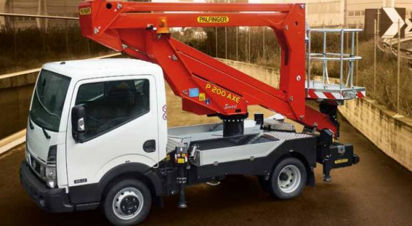 20m truck mount platform hire