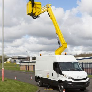 Vehicle mount hire