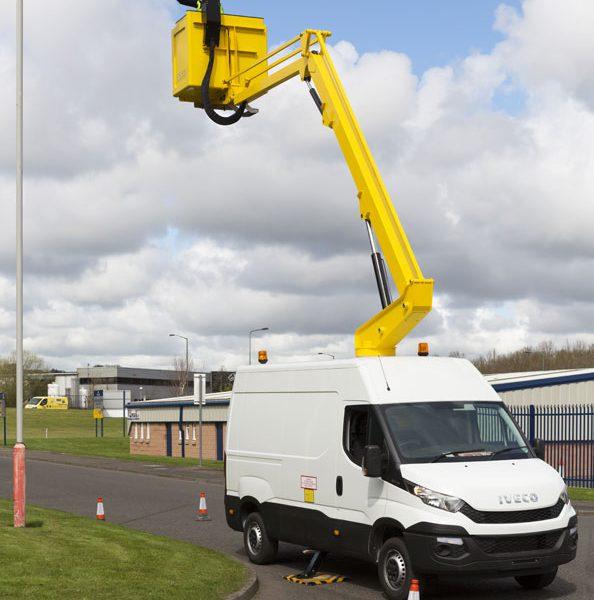 van mount hire east midlands